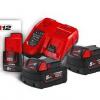Milwaukee Batterij + lader  M 18 NRG-502
